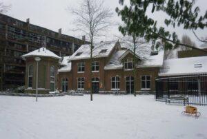Windketel Sneeuw foto